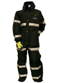 Increased Visibility Coveralls without Hood
